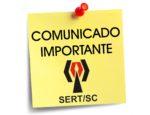 COMUNICADO SERTSC